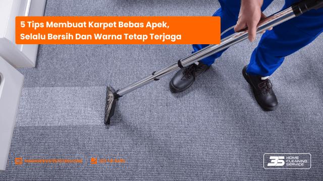 Cara Menghilangkan Bau Apek pada Karpet