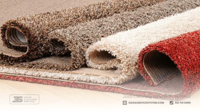cara menghilangkan bau karpet